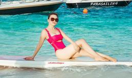 Á hậu Áo dài Phương Chery khoe dáng cuốn hút tại thiên đường Maldives
