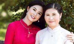 Hoa hậu Ngọc Hân hiếm hoi khoe mẹ trẻ đẹp kèm tâm thư xúc động cho đấng sinh thành