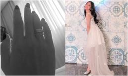 Bạn gái Quang Hải khoe nhẫn ngón áp út, diện váy cô dâu đăng đàn tuyển chú rể giữa nghi án chia tay