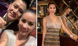 Hoa hậu Thu Hoài vô tình tự 'dìm hàng' bằng một bức ảnh selfie