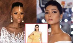Nhan sắc lạ và đầy ấn tượng của 'bản sao' H'Hen Niê vừa đăng quang Hoa hậu Nam Phi 2019 khiến Hoàng Thùy phải dè chừng