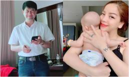 Ca sĩ Minh Chuyên công khai toàn bộ gương mặt bố của con trai, đẹp chuẩn 'soái ca'