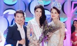 Nguyễn Thư Di đăng quang Hoa hậu Người Việt thế giới
