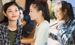 Hoa hậu Lương Thùy Linh cùng Kiều Loan - Tường San mặc áo phông giản dị vượt đường sạt lở thăm người dân vùng lũ