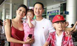 Trang Trần tiết lộ lí do chưa qua Mỹ đoàn tụ cùng chồng
