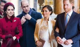 Vợ chồng Công nương Kate tránh chạm mặt vợ chồng em dâu Meghan sau phát ngôn động chạm của Hoàng tử Harry
