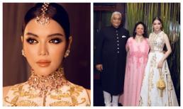 Lý Nhã Kỳ hóa công chúa dự sinh nhật xa hoa của tỉ phú Ấn Độ