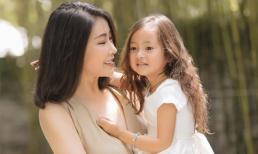 Hà Kiều Anh đăng ảnh xinh đẹp như nữ thần, con gái út ngày càng ra dáng mỹ nhân tương lai