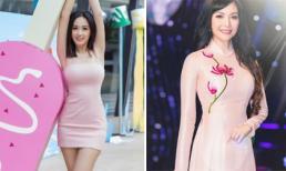 Tự nhận đang học cách đối phó với sự nhàm chán trong cách ăn mặc nhưng Mai Phương Thúy vẫn được Hoa hậu Thiên Nga khen ngợi
