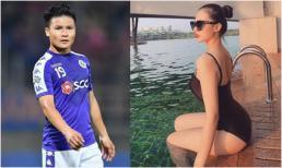 Hé lộ dung nhan hot girl nóng bỏng được cho là bạn gái mới của Quang Hải