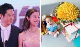 Kỷ niệm 1 năm ngày cưới: Trịnh Gia Dĩnh tặng 100 bông hồng vàng, hẹn hò lãng mạn với vợ ở nhà hàng hạng sang