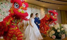 Đám cưới xa hoa của con nhà giàu châu Á: Nhẫn cưới 2,8 tỷ đồng, bữa tối 1,1 tỷ đồng