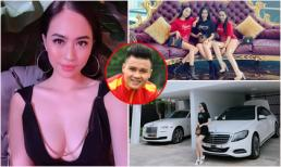 Nhan sắc gợi cảm và cuộc sống xa hoa, sang chảnh của 'bạn gái mới' Quang Hải