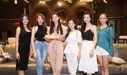 Tiểu Vy và dàn người đẹp 'quên make up' đến mừng sinh nhật Hoa hậu Lương Thuỳ Linh