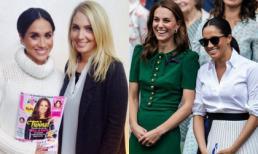 Meghan thời chưa quen Harry từng chụp ảnh cùng tạp chí in hình Kate, không ngờ 4 năm sau cả hai trở thành người thân nhưng... thân ai nấy lo