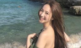 'Thư ký Kim' Park Min Young khoe vai trần nuột nà khi đi du lịch Tây Ban Nha
