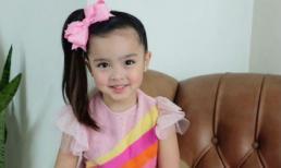 Có cô con gái như búp bê thế này bảo sao 'Mỹ nhân đẹp nhất Philippines' cũng phải chịu lép vế