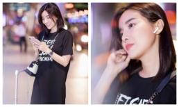 Cao Thái Hà trẻ trung với khuôn mặt trong veo bay ra Yên Bái quay phim mới