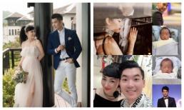 Chúc mừng Trương Nam Thành, Nguyên Vũ để lộ chân dung hai quý tử nhà bạn