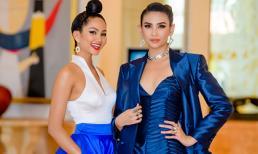 H'Hen Niê đọ dáng với Võ Hoàng Yến, chia sẻ kinh nghiệm với đàn em Hoa hậu Hoàn vũ Việt Nam 2019