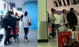 Đông Nhi - Ông Cao Thắng diện đồ đôi, nắm tay cực tình ở sân bay