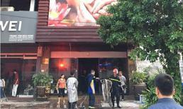 Cháy quán massage ở Hà Nội khiến nhiều người bỏ chạy thoát thân
