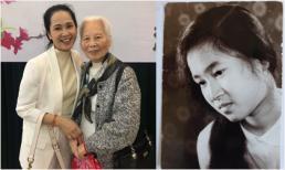 Đăng ảnh năm 17 tuổi, NSND Lan Hương được dân mạng tấm tắc khen xinh đẹp và giống mẹ như đúc