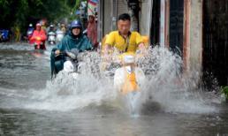 Đợt mưa to đang diễn ra ở Bắc Bộ và Bắc Trung Bộ còn kéo dài đến khi nào?