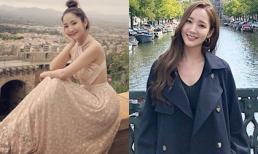 Ngắm street style du lịch đẹp 'quên lối về' của Park Min Young để tìm ý tưởng diện đồ cho những chuyến du lịch nửa cuối năm