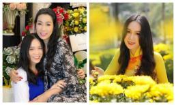 Con gái mới 16 tuổi đã ra dáng thiếu nữ, thừa hưởng hết nét đẹp của Trịnh Kim Chi