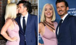 Bất chấp bị tố quấy rối tình dục, Katy Perry thoải mái khóa môi vị hôn phu Orlando Bloom