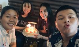 Hoa hậu Tiểu Vy đón sinh nhật tuổi 19 giản dị ở quán ăn lề đường