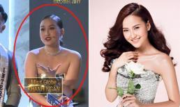 Bất ngờ với thân hình vai u thịt bắp của Khánh Ngân sau 2 năm đăng quang Hoa hậu Hoàn cầu