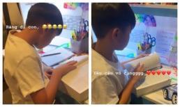 Hà Hồ bật mí bí quyết giúp con trai nói tiếng Anh như gió