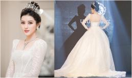 Á hậu Huyền My đăng ảnh mặc váy cưới, nói đi lấy chồng khiến fans xôn xao