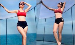 47 tuổi, 'bà mẹ 3 con' Mỹ Lệ lần đầu đăng ảnh diện bikini và nhận cái kết không thể ngọt hơn