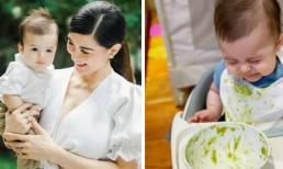 """""""Mỹ nhân đẹp nhất Philippines"""" gây tranh cãi vì cho con trai 4 tháng tuổi ăn thứ này"""