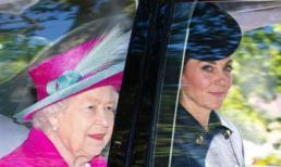 Công nương Kate Middleton ra dáng Hoàng hậu tương lai khi ngồi cạnh Nữ hoàng