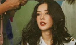 Chi Pu 'đốn tim' fan với vẻ xinh đẹp xuất thần trong hậu trường