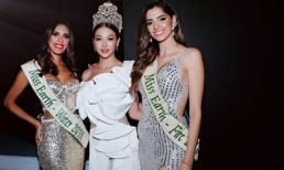 Phương Khánh đẹp lấn áp tân Hoa hậu Trái đất Colombia 2019 vào đêm chung kết