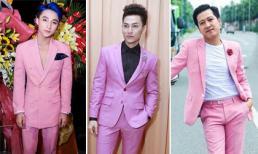 Diện đồ tông màu hồng tưởng sến nhưng loạt sao nam Việt vẫn đẹp trai ngời ngời