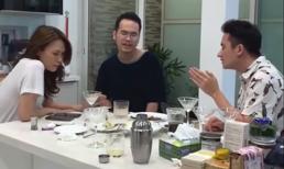 Mỹ Tâm say sưa mở 'liveshow' nhạc Phan Mạnh Quỳnh ngay trên bàn nhậu