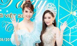 Hoa hậu Người Việt Thế giới Trần Ngọc Trâm đọ sắc đẹp ngây ngất cùng Hoa hậu Phan Thị Mơ