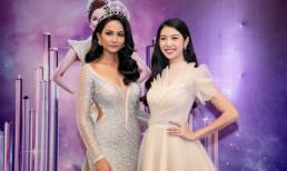 H'Hen Niê hết mình ủng hộ Á hậu Thúy Vân thi Hoa hậu Hoàn vũ Việt Nam 2019