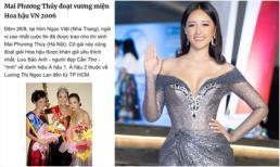 Mai Phương Thuý hé lộ điều 'khác biệt' của bản thân vào đúng ngày kỷ niệm 13 năm đăng quang Hoa hậu Việt Nam