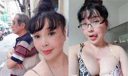 Nghệ sĩ Lan Hương diện váy hai dây khoe vòng một căng đầy còn hơn cả gái đôi mươi