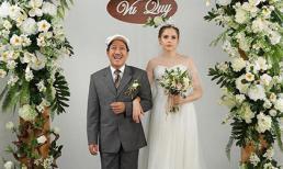 Trường Giang gây tò mò khi chụp ảnh cưới cùng mẫu Tây xinh đẹp