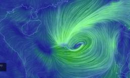 Tin bão khẩn cấp: Bão số 4 đổ bộ đất liền, cảnh báo mưa rất to từ chiều nay