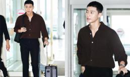 Lột xác với đầu 'bát úp', 'Phó Chủ tịch' Park Seo Joon vẫn được dân tình khen nức nở