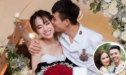 Minh Nhựa khoe ảnh hôn lên má con gái sắp cưới, vợ hai bình luận khó hiểu